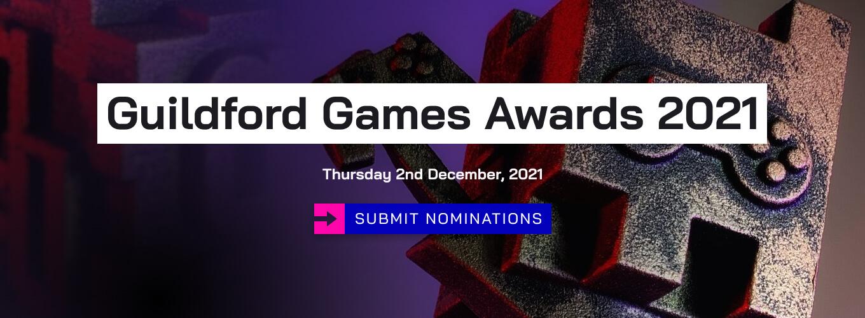 The Guildford Games Awards, 2nd December 2021