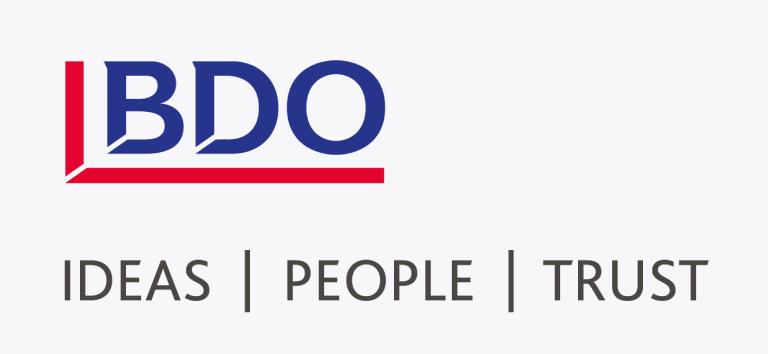 Logo for BDO