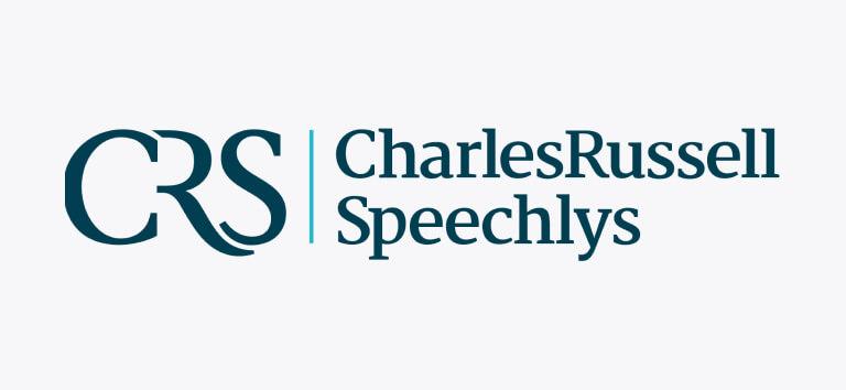 Logo for Charles Russell Speechlys