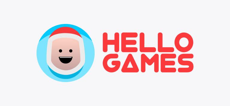Logo for Hello Games