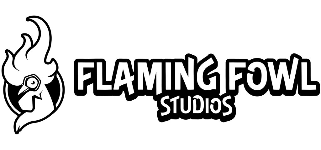 Logo for Flaming Fowl Studios