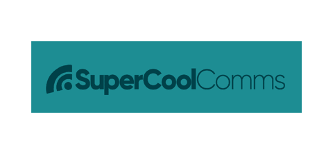 Logo for SuperCoolComms