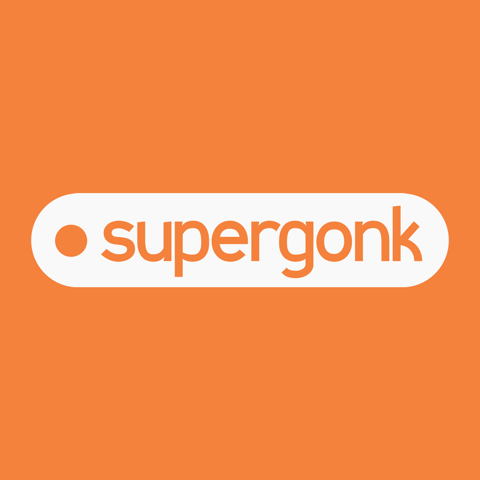 Logo for Supergonk